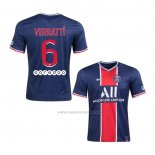 1ª Camiseta Paris Saint-Germain Jugador Verratti 2020-2021