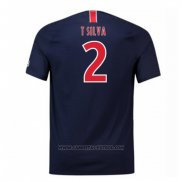 1ª Camiseta Paris Saint-Germain Jugador T Silva 2018-2019