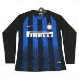 1ª Camiseta Inter Milan Manga Larga 2018-2019