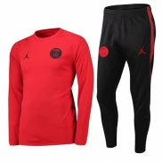 Chandal del Paris Saint-Germain Jordan At18-2019 Rojo