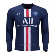 1ª Camiseta Paris Saint-Germain Manga Larga 2019-2020