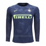 3ª Camiseta Inter Milan Manga Larga 2017-2018