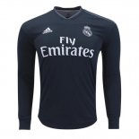 2ª Camiseta Real Madrid Manga Larga 2018-2019