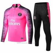 Chandal del Paris Saint-Germain 2018-2019 Rosa