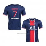 1ª Camiseta Paris Saint-Germain Jugador Mbappe 2020-2021