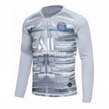 Camiseta Paris Saint-Germain Portero Manga Larga 2019-2020 Gris