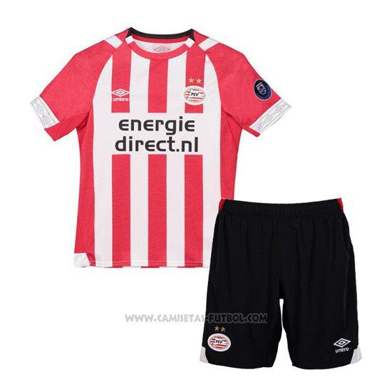 1ª Camiseta PSV Nino 2018-2019 0deab3cf06954