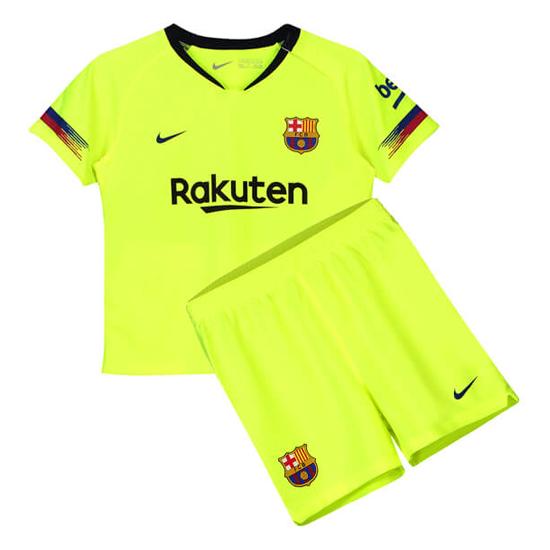 11bf091f2c 2ª Camiseta Barcelona Nino 2018-2019
