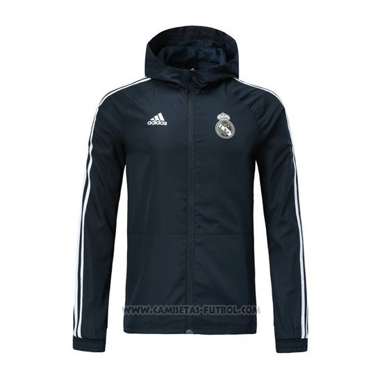 34f4ff19130bc Rompevientos del Real Madrid 2018-2019 Gris