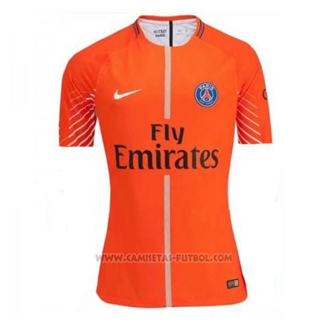 Camiseta Paris Saint-Germain Portero 2017-2018 Naranja 19c518f48322f