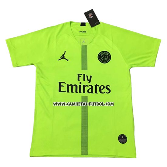 Tailandia Camiseta Paris Saint-Germain Portero 2018-2019 Verde 072e1b7e7253e