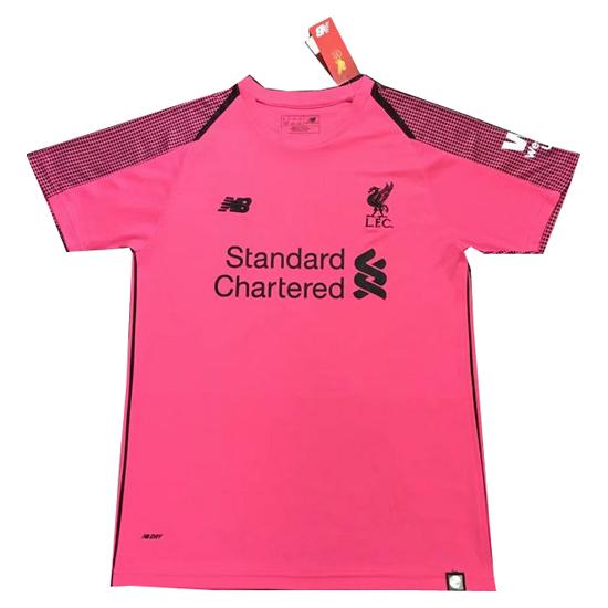 d6804addf0670 Tailandia Camiseta Liverpool Portero 2018-2019 Rosa
