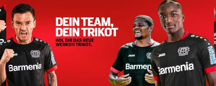 camisetas Bayer Leverkusen replicas 2020-2021