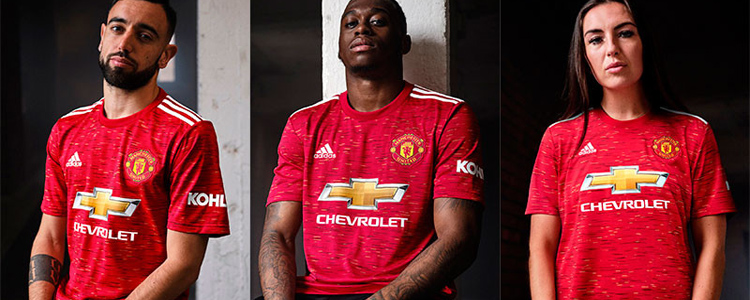 camisetas Manchester United replicas 2020-2021