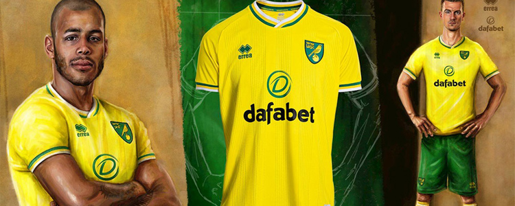 camisetas Norwich City replicas 2020-2021