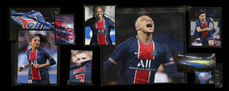 camisetas Paris Saint-Germain replicas 2020-2021