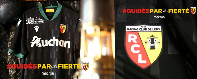 camisetas RC Lens replicas 2020-2021